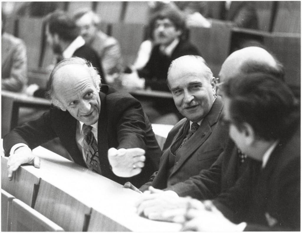 Ernst Hiesmayr in der Uni