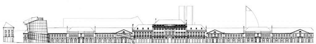 messepalast Fassade